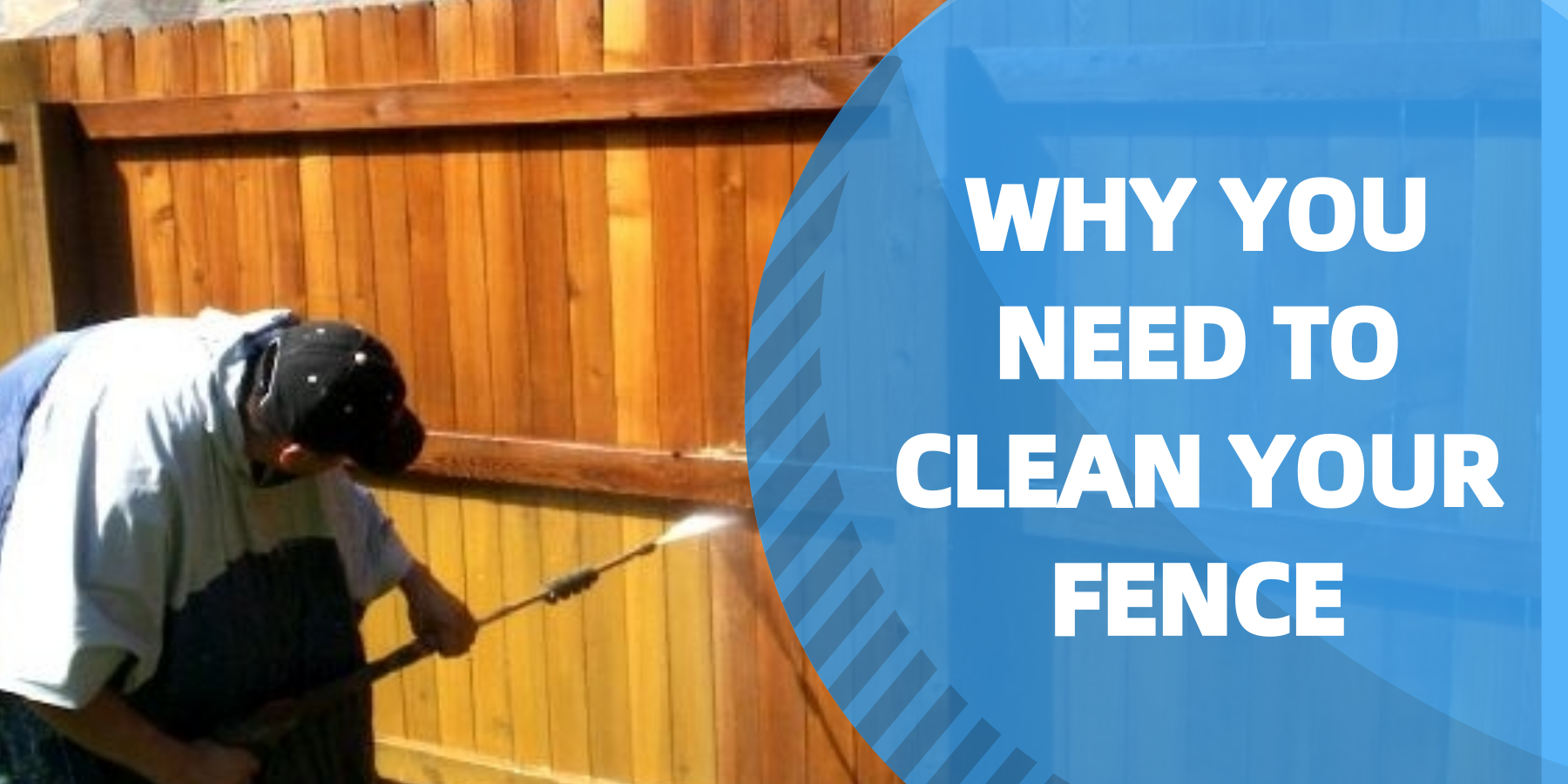 Learn more about why you need to clean your fence